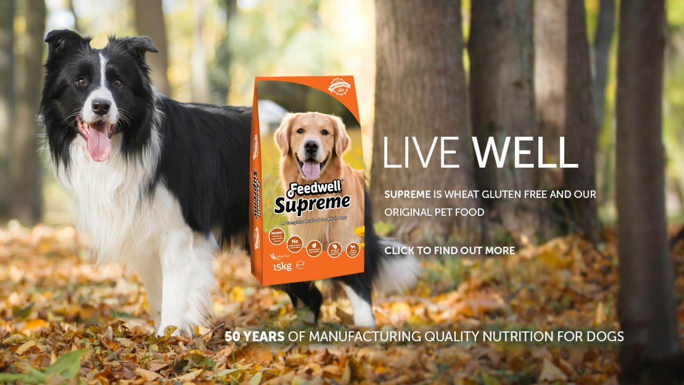 Feedwell Supreme Dog Food